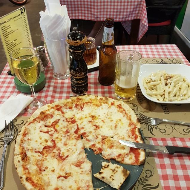 Pizaa bij Grottino