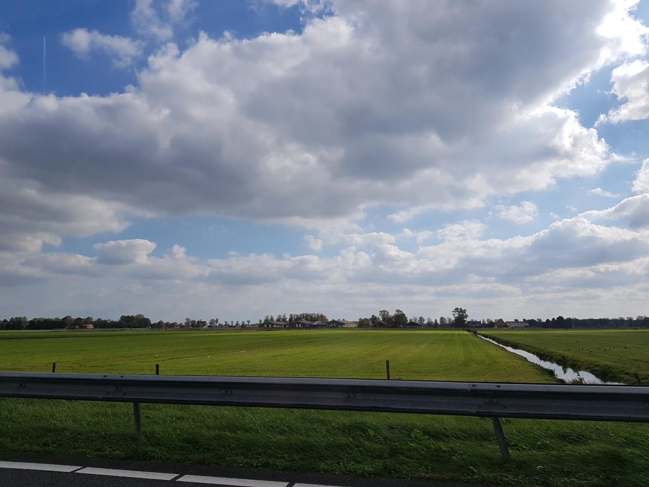 vlakke polder