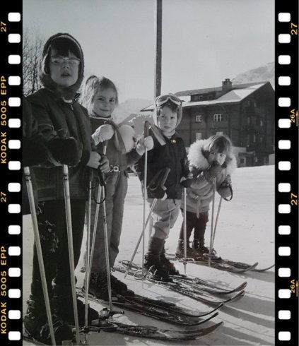 Wengen januari 1971