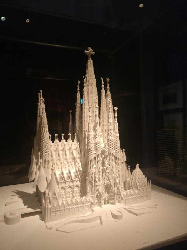 3d model Sagrada Familía