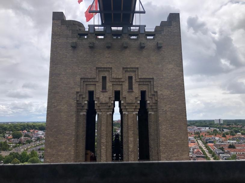 zicht op de 'mannentoren'