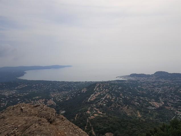zicht op de baai van Cavalaire