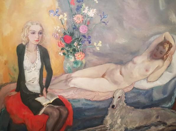 anorexiameisje et waterhoofd en blote dame