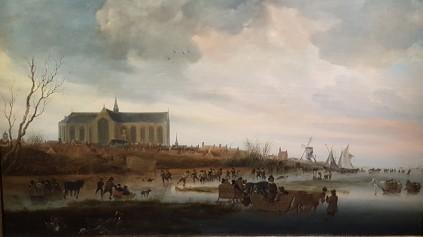 Ruysdael, zicht op de Grote Kerk 2