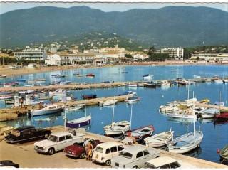 cavalaire le port 1967 1